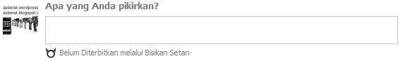 bisikan setan