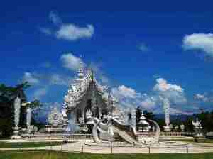 Candi Buddha Wat Rong Khun
