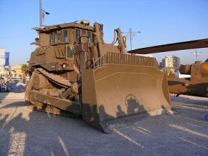 bulldozer tentara israel
