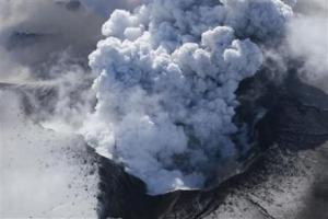 ledakan gunung