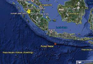Seamount pantai barat