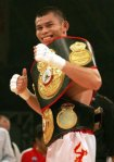 chris john - one of the boxer world champions from indonesia