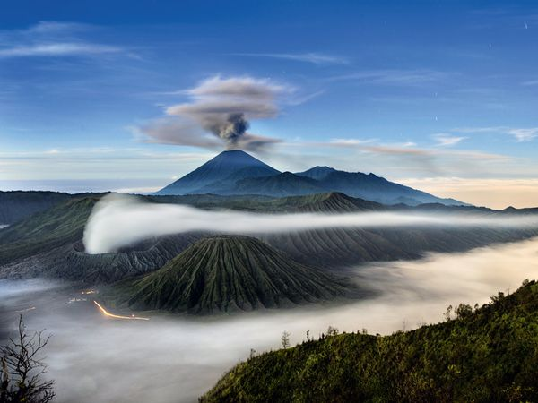 semeru and bromo mount