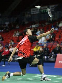 Legendary BackHand Smash - taufik Hidayat
