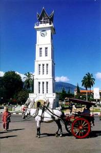 Jam Gadang di Sumatera Barat